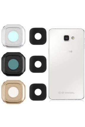 Samsung Galaxy A9 A910 (2016) Uyumlu Füme Kamera Lens Kapak