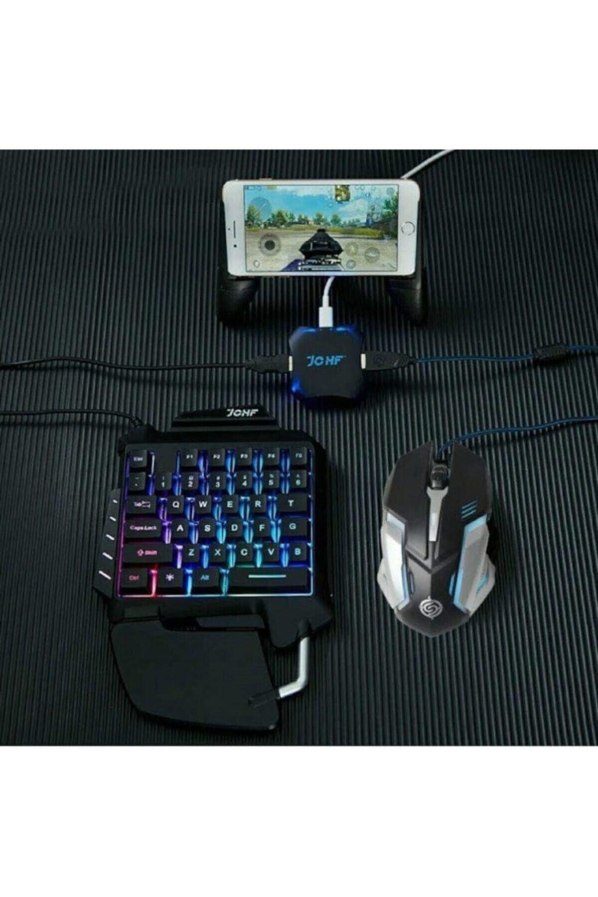 thorqtech Pubg Oyun Konsolu 3 In1 Klavye Mouse Bağlayıcı Pubg Klavye Mouse Seti 1