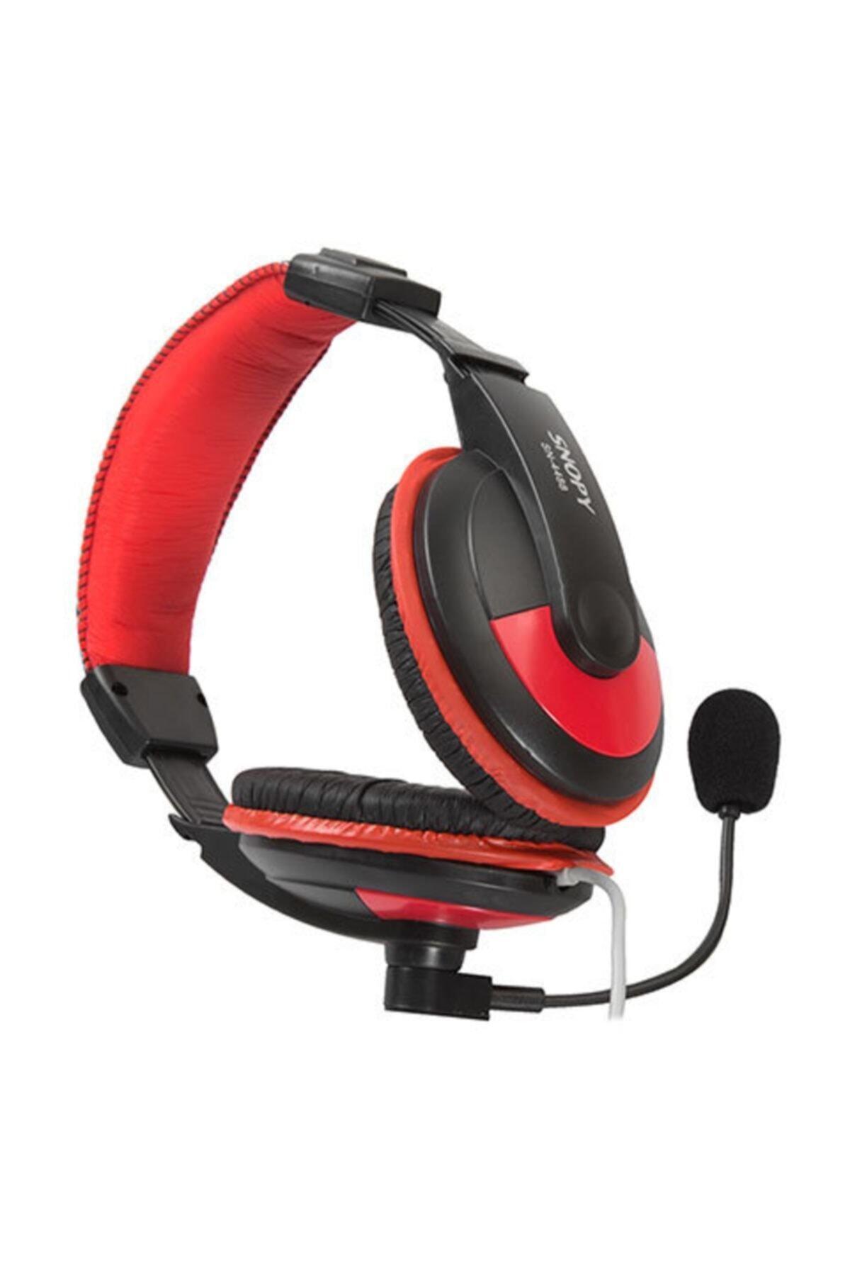 Snopy Sn-4488 Profesyonel Oyuncu Mikrofonlu Kulaklık 2
