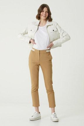 Network Kadın Slim Fit Kamel Pantolon 1079117