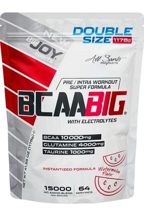 Big Joy Bigjoy Sports Bcaabig Bcaa Glutamin Taurine Amino Asit Karpuz Aroma 1178g