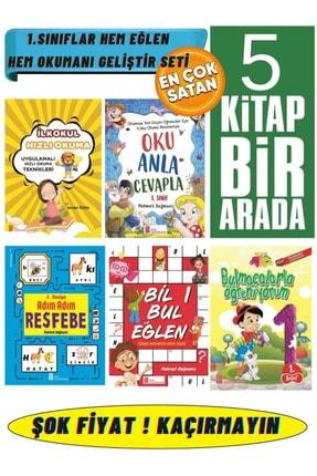 Ata Yayıncılık 1.sınıf 5 Süper Kitap(hızlı Okuma+oku Anla Cevapla+resfebe+bil Bul+bulmacalarla)
