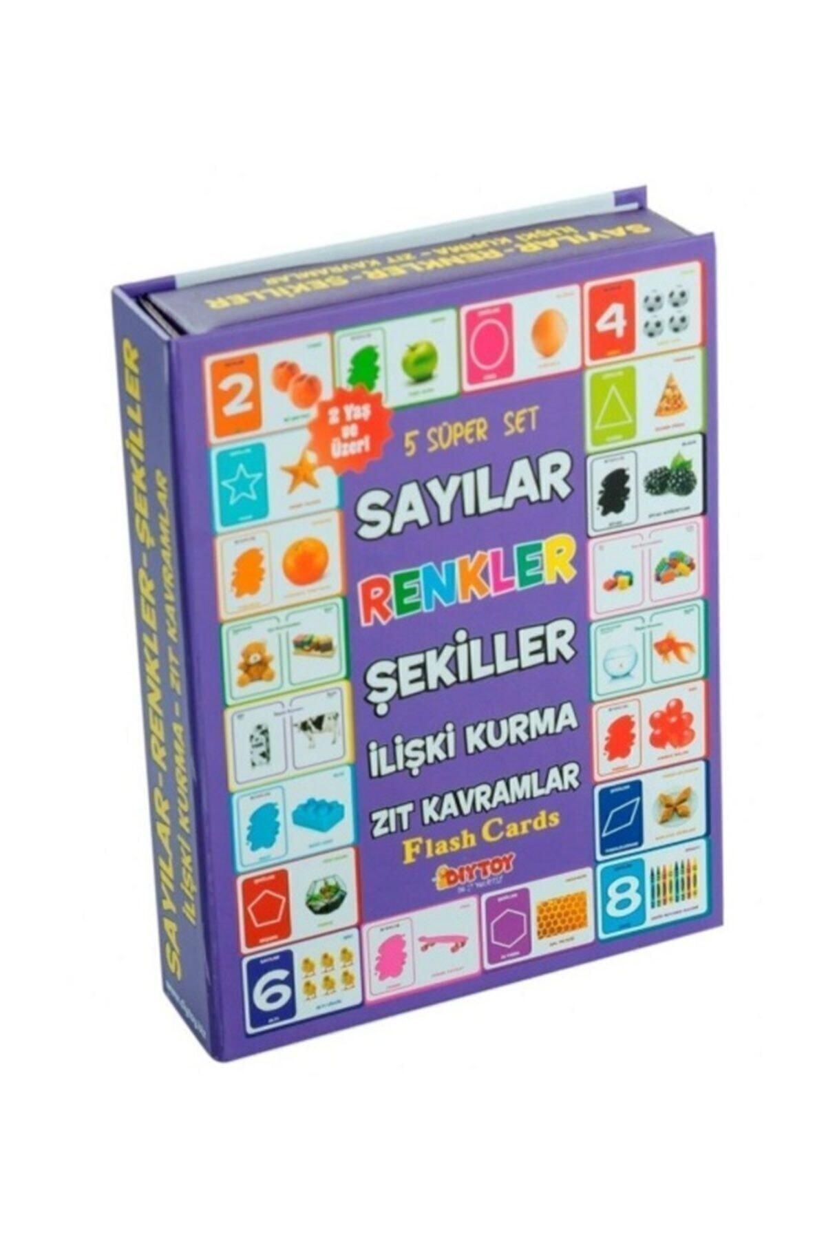 DIYTOY Dıy-toy Flash Cards Süper Set 1
