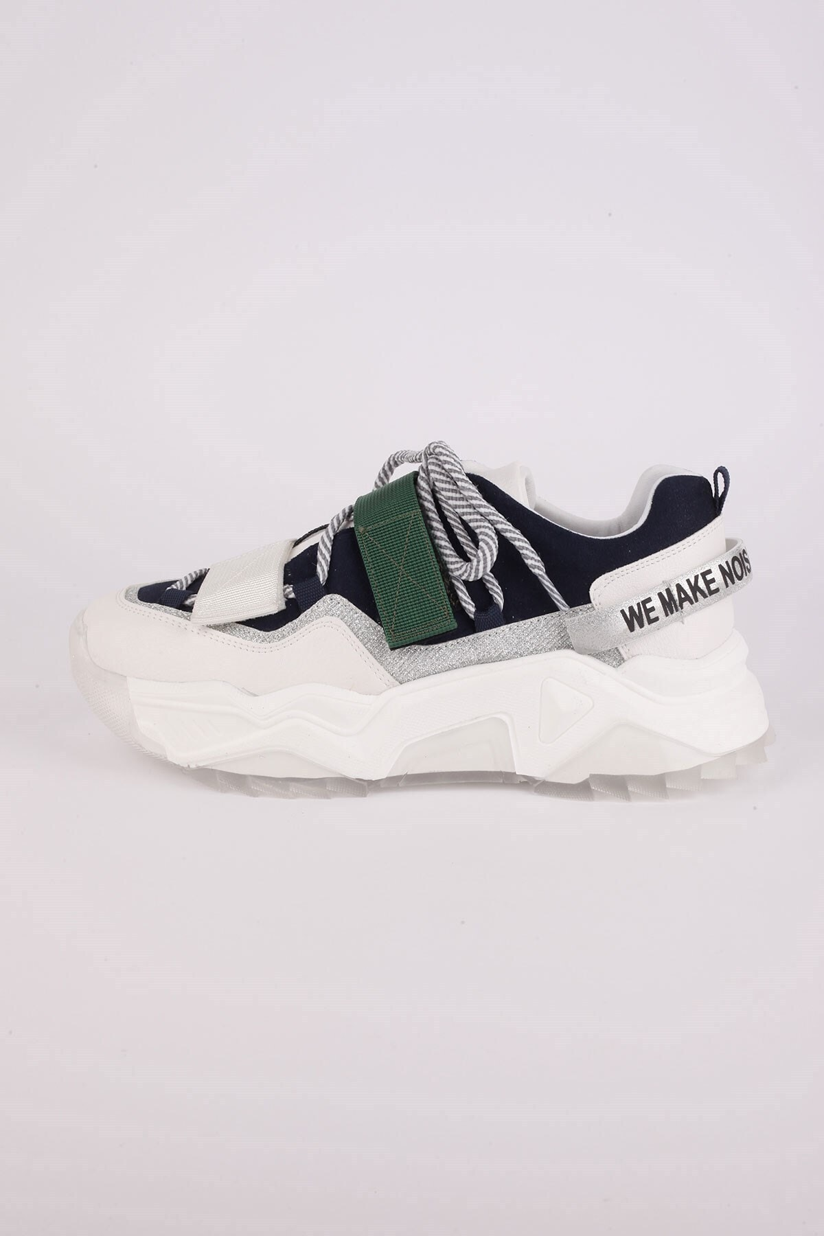 Tinka Bell Shoes Kadın Beyaz Spor Ayakkabı 65140 1