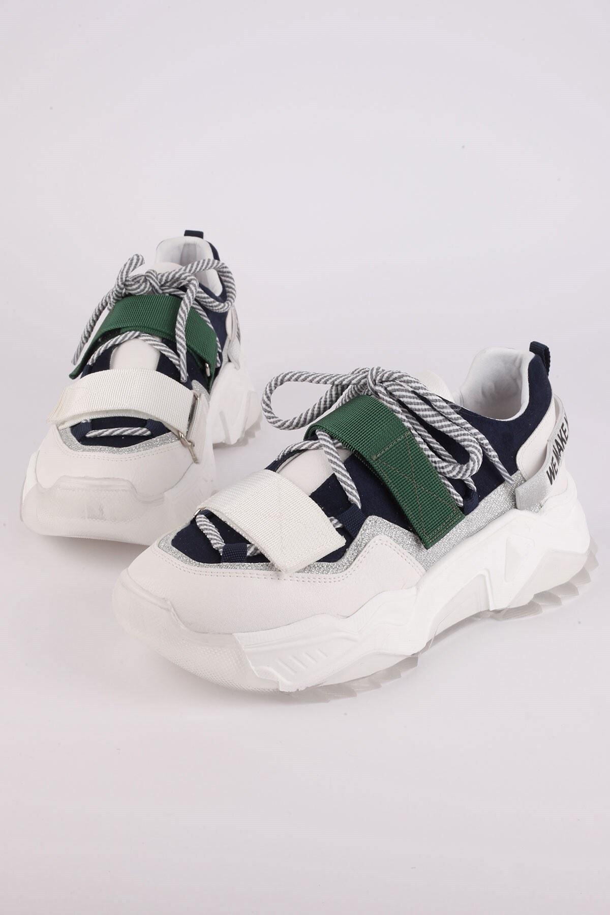 Tinka Bell Shoes Kadın Beyaz Spor Ayakkabı 65140 2