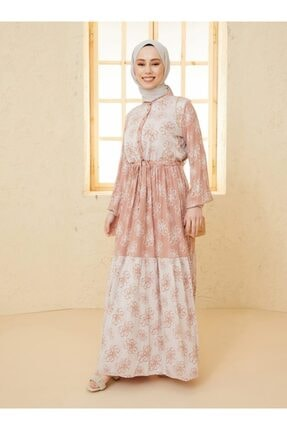 Loreen Kadın Çiçek Desenli Elbise
