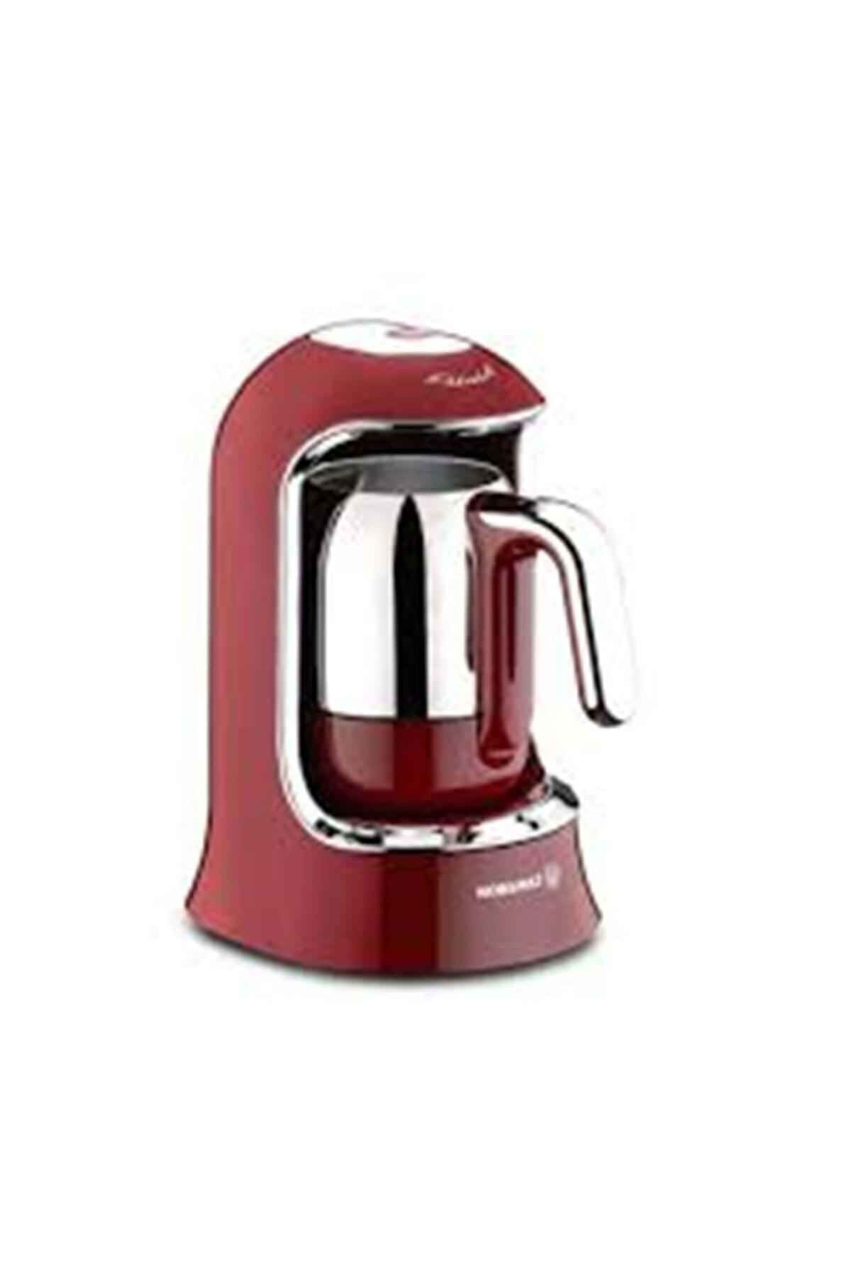 KORKMAZ A860-03 Kahvekolik Kırmızı Kahve Makinesi 1