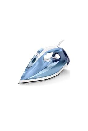 Philips Buharlı Ütü 180g Şok Buhar, 2400w & Steamglide Taban – Mavi/beyaz Azur Gc4532/20