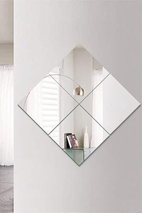 Fekare Kare 4 Parçalı 30x30 Dekoratif 4'lü Cam Ayna