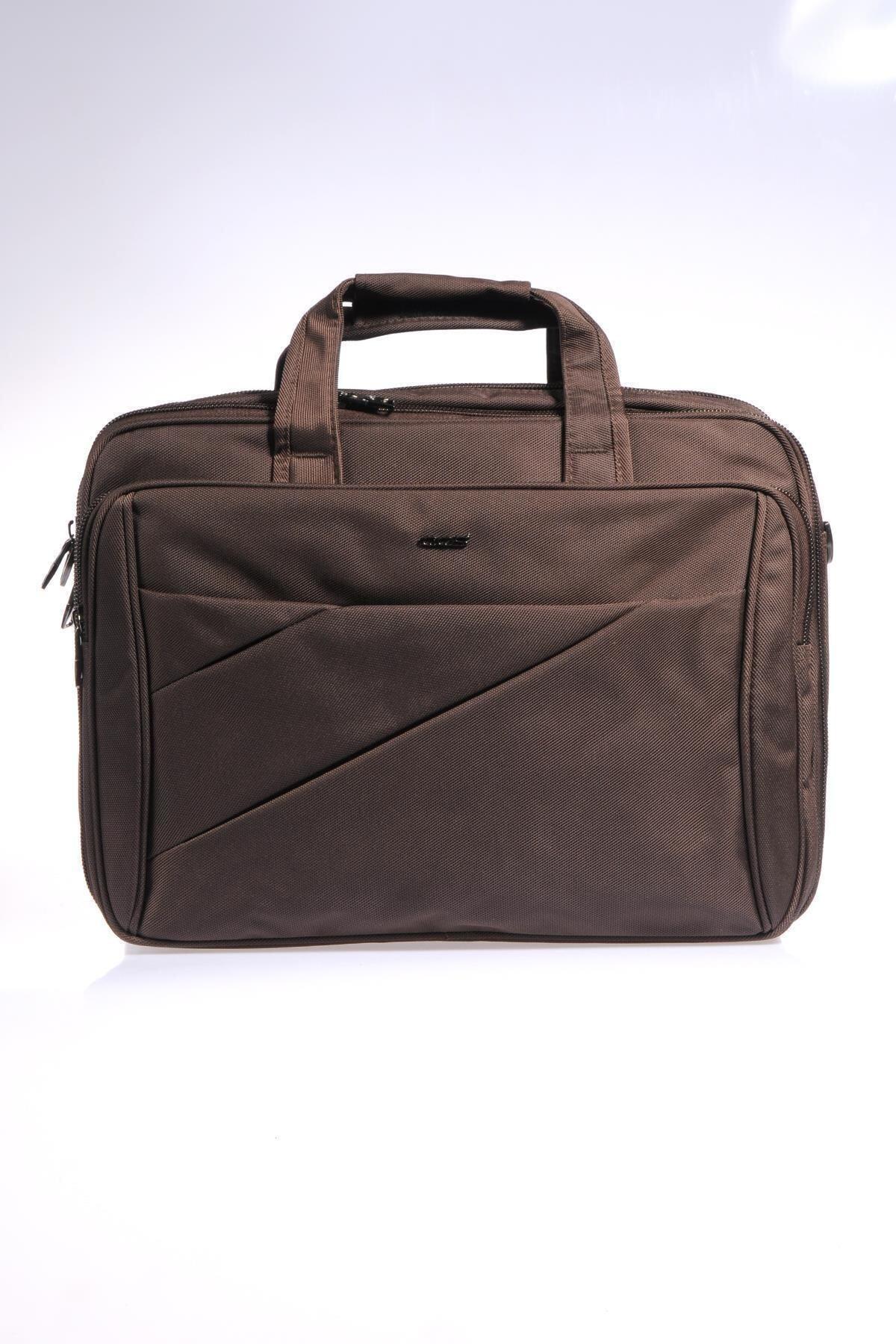 ÇÇS Kahverengi Unisex Laptop/Evrak Çantası Ççs71369 1