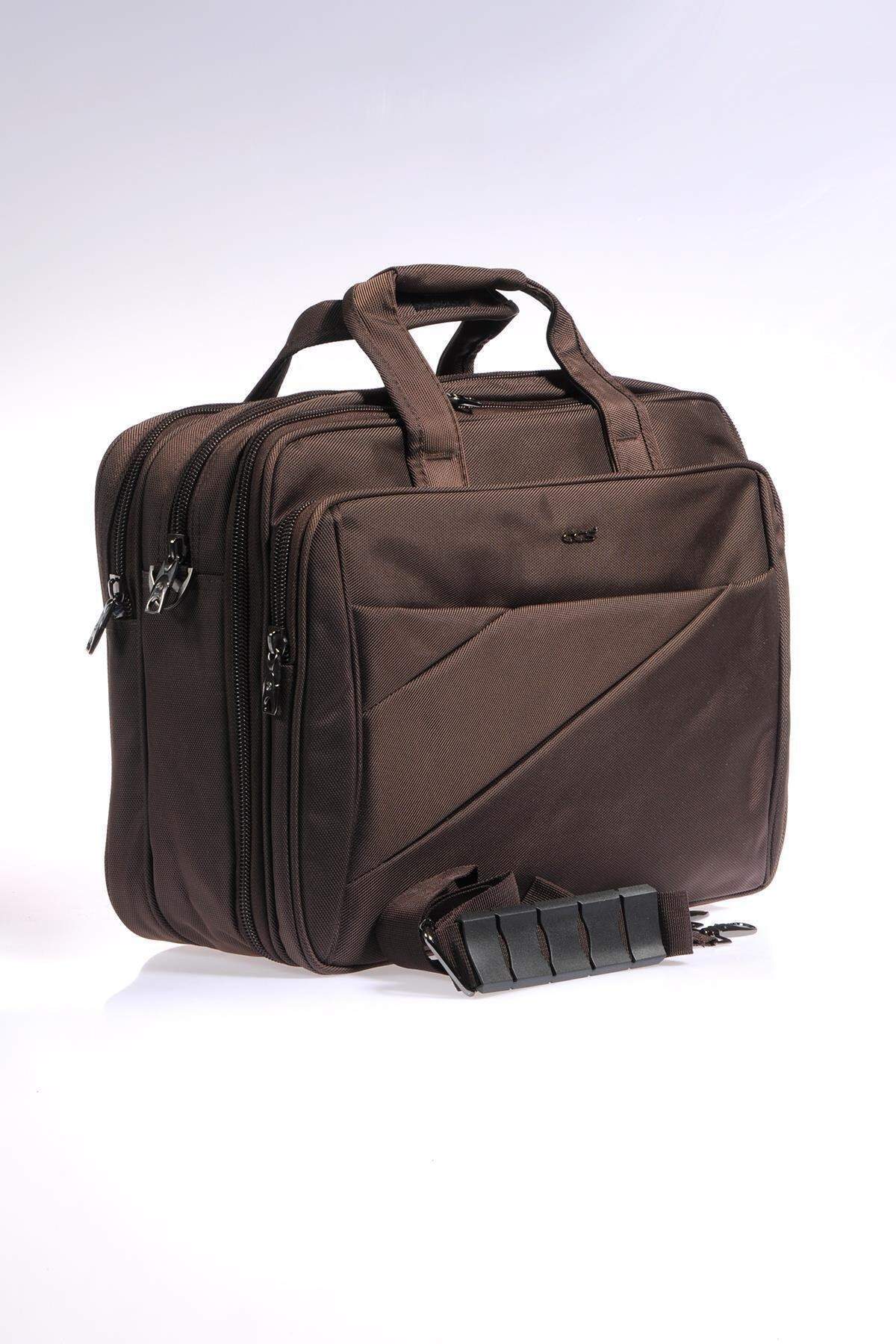 ÇÇS Kahverengi Unisex Laptop/Evrak Çantası Ççs71369 2
