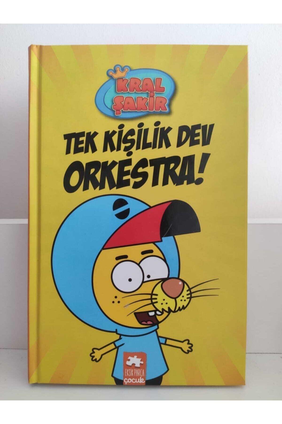 Eksik Parça Yayınları Kral Şakir 1 Tek Kişilik Dev Orkestra ! (CİLTLİ) 2