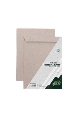 Gen-Of Torba Zarf 17x25 Kraft 90 gr Silikonlu 50 Li