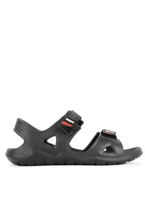 Slazenger Okra Erkek Sandalet Siyah Sa11se035