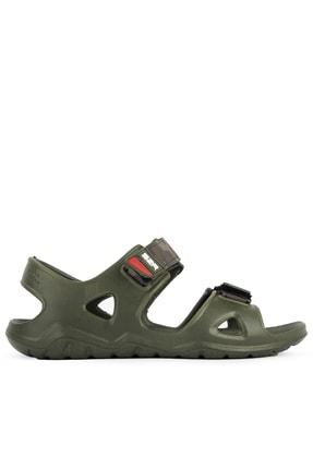 Slazenger Okra Erkek Sandalet Haki Sa11se035