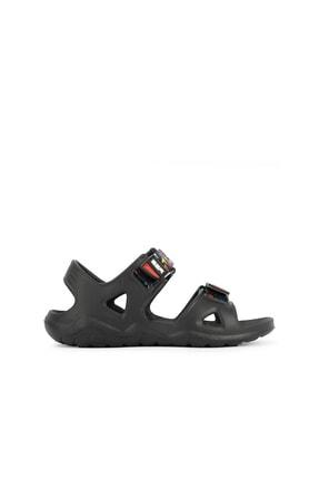 Slazenger Okra Çocuk Sandalet Siyah Sa11sf020
