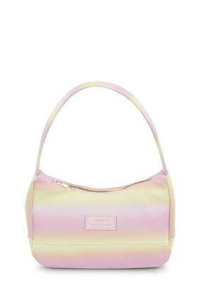 Housebags Kadın Sarı Renkli Baguette Çanta 197