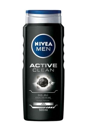 Nivea Duş Jeli - Actıve Clean 500 ml