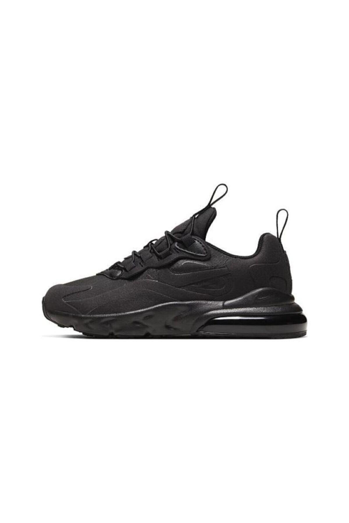 Nike Unisex Çocuk Siyah Nıke Aır Max 270 Çocuk Ayakkabı Bq0102-004 1