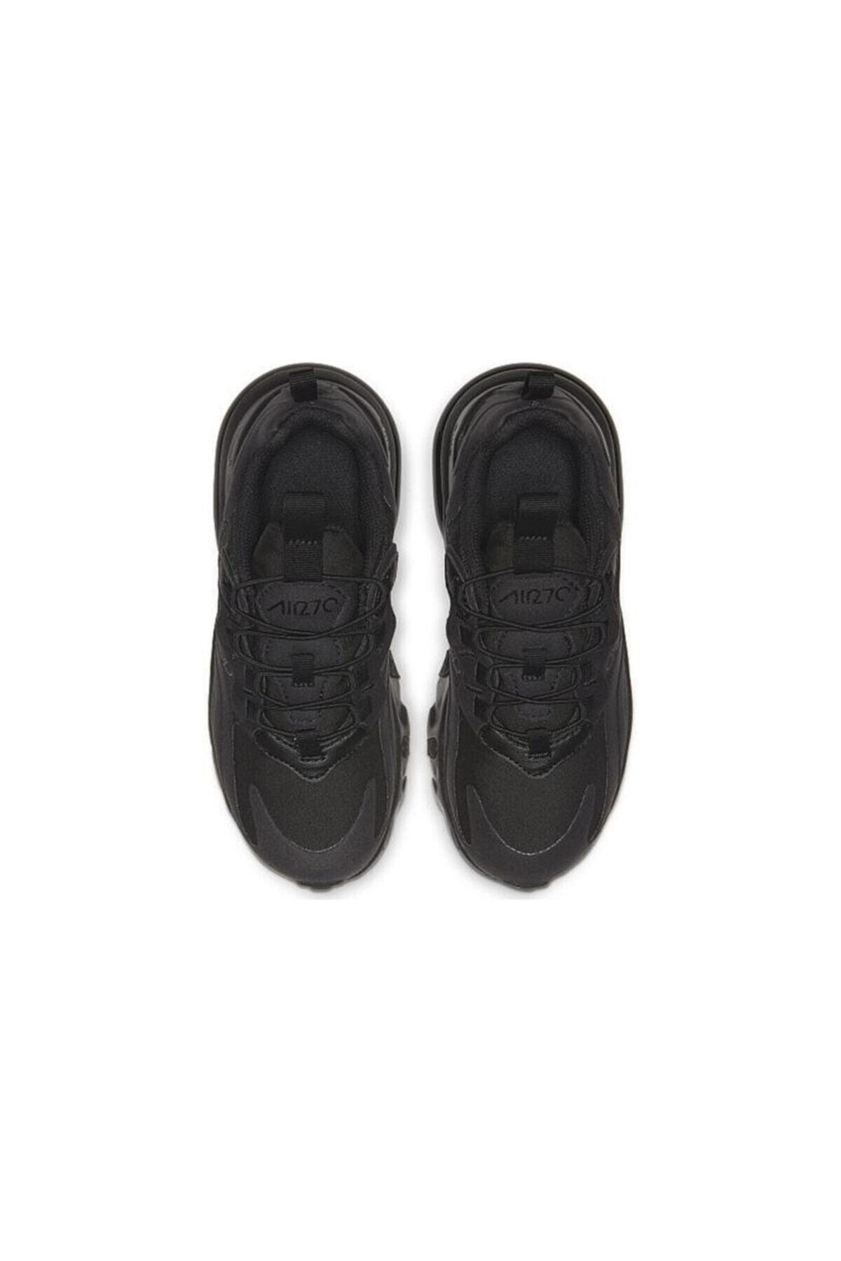 Nike Unisex Çocuk Siyah Nıke Aır Max 270 Çocuk Ayakkabı Bq0102-004 2
