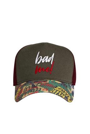 Bad Bear Bad Me Cap Khakı Yeşil Yazlık Kep