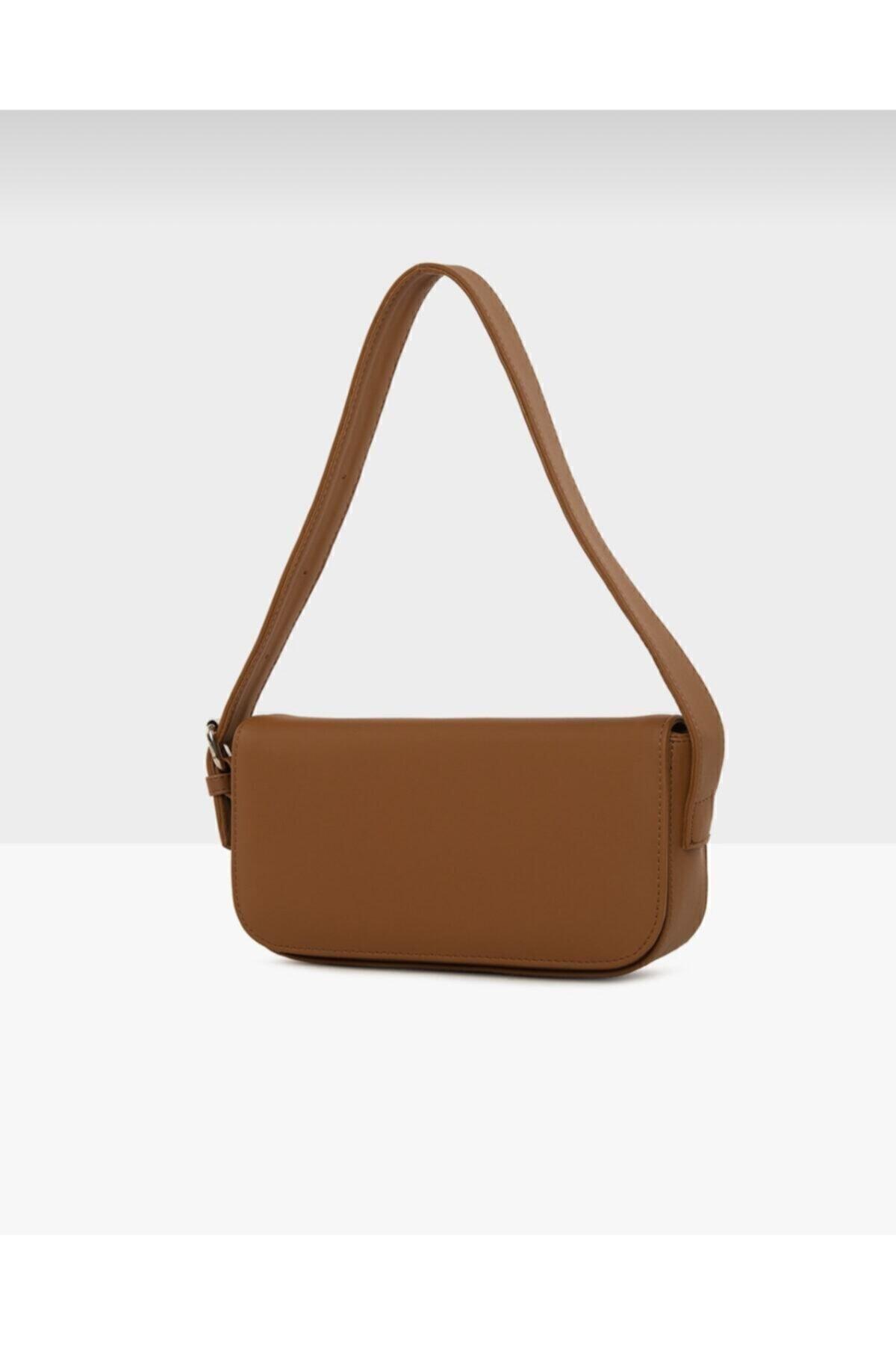 bag&more Kadın Taba Kapaklı Baget Çanta 2