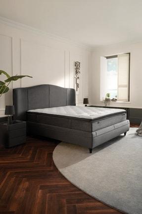 Yataş Bedding Camira Set - Yatak Baza Başlıklı Set - Kumaşantrasit