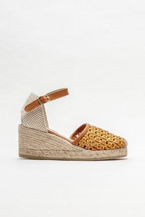 Elle Shoes Kadın Naturel Espadril
