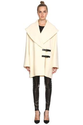 Lanvin Kadın Krem Rengi Palto