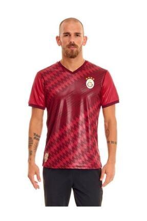 Galatasaray Erkek Kırmızı Omuz Omuza Taraftar T-Shirt