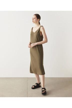 İpekyol V Yaka Basic Elbise