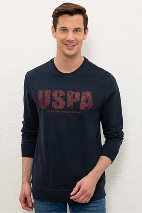 U.S. Polo Assn. Lacıvert Erkek Sweatshirt G081SZ082.000.1219370