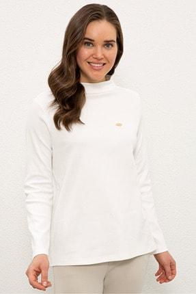 U.S. Polo Assn. Beyaz Kadın Sweatshirt