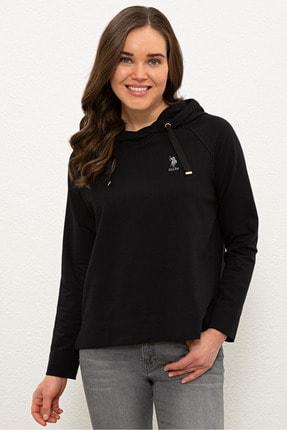 U.S. Polo Assn. Sıyah Kadın Sweatshirt