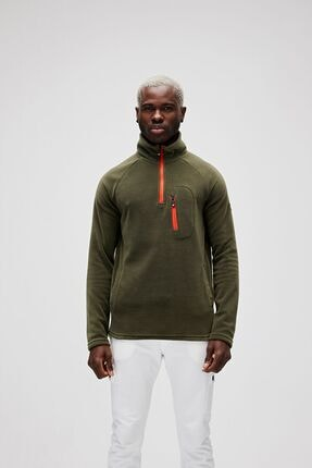 Bad Bear Haki Erkek Polar HUSKY HALF-ZIP KHAKI