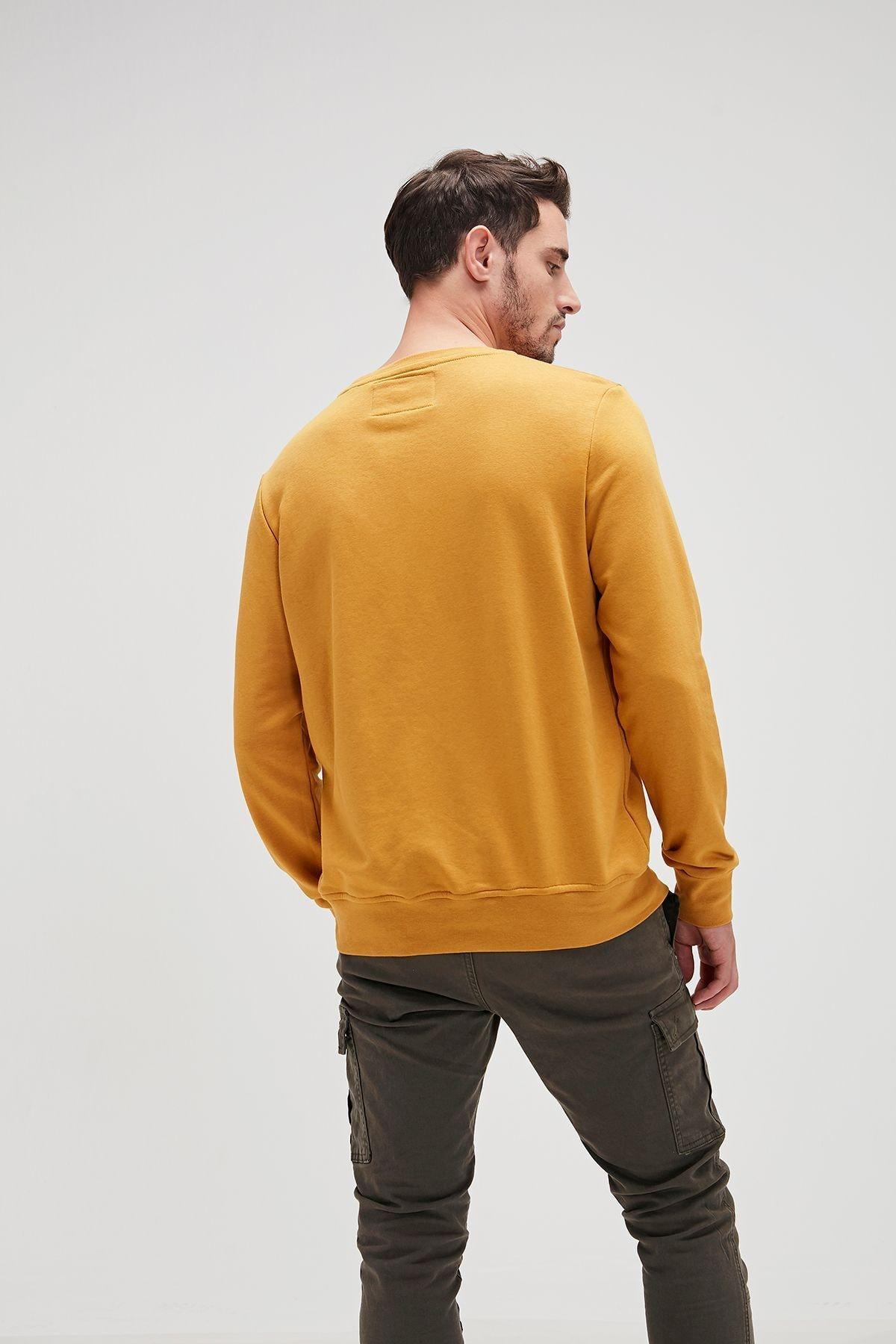Bad Bear Erkek Sarı Fancy Sweatshirt 2