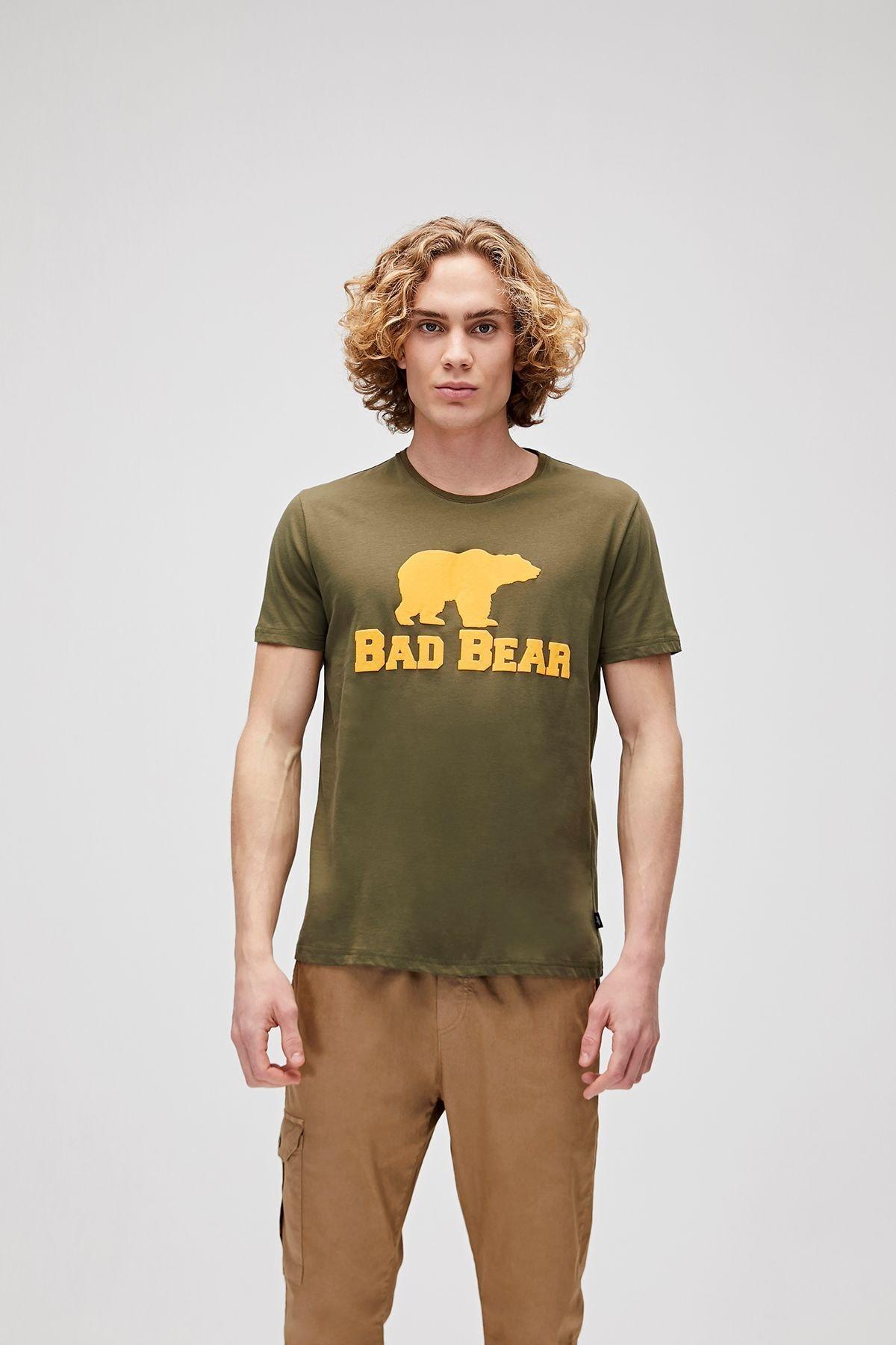 Bad Bear Haki Erkek Tişört Tee Khakı (19.01.07.002) 1