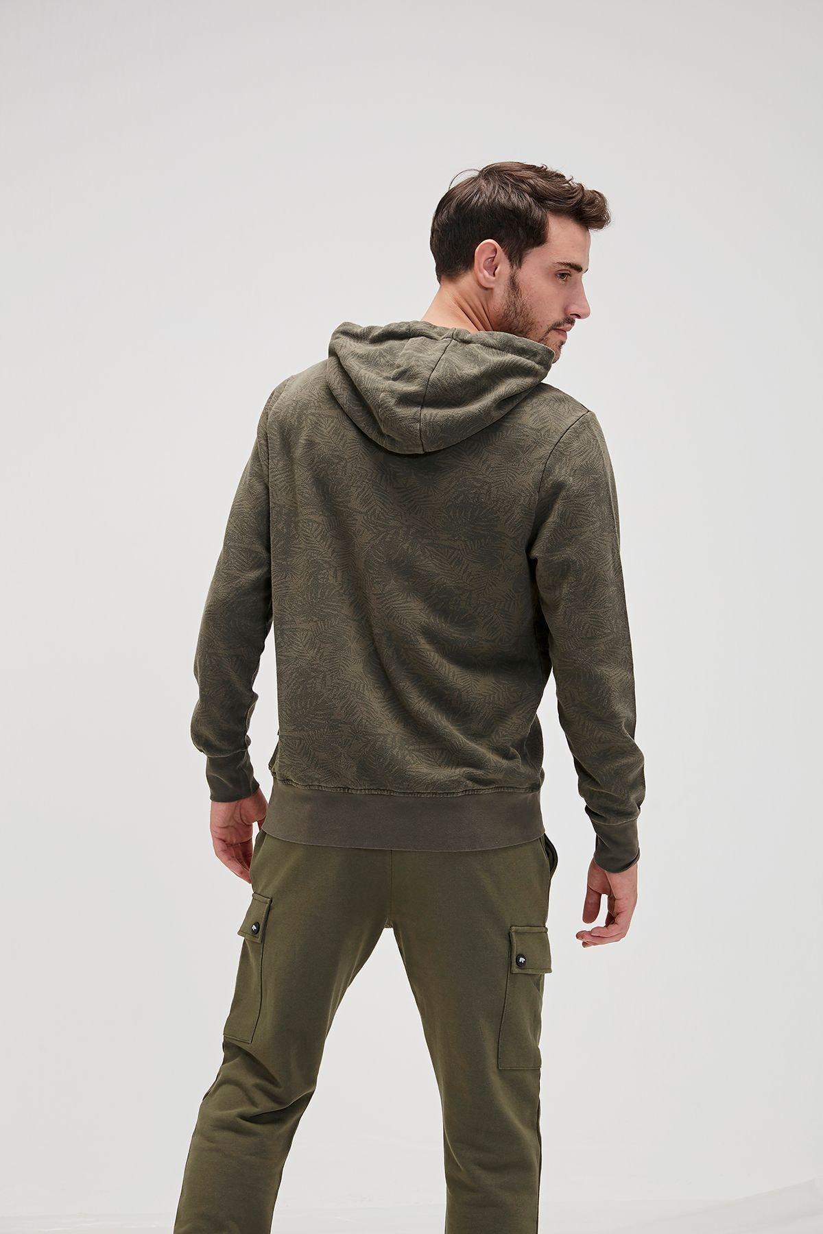 Bad Bear Erkek Haki Sweatshirt 2
