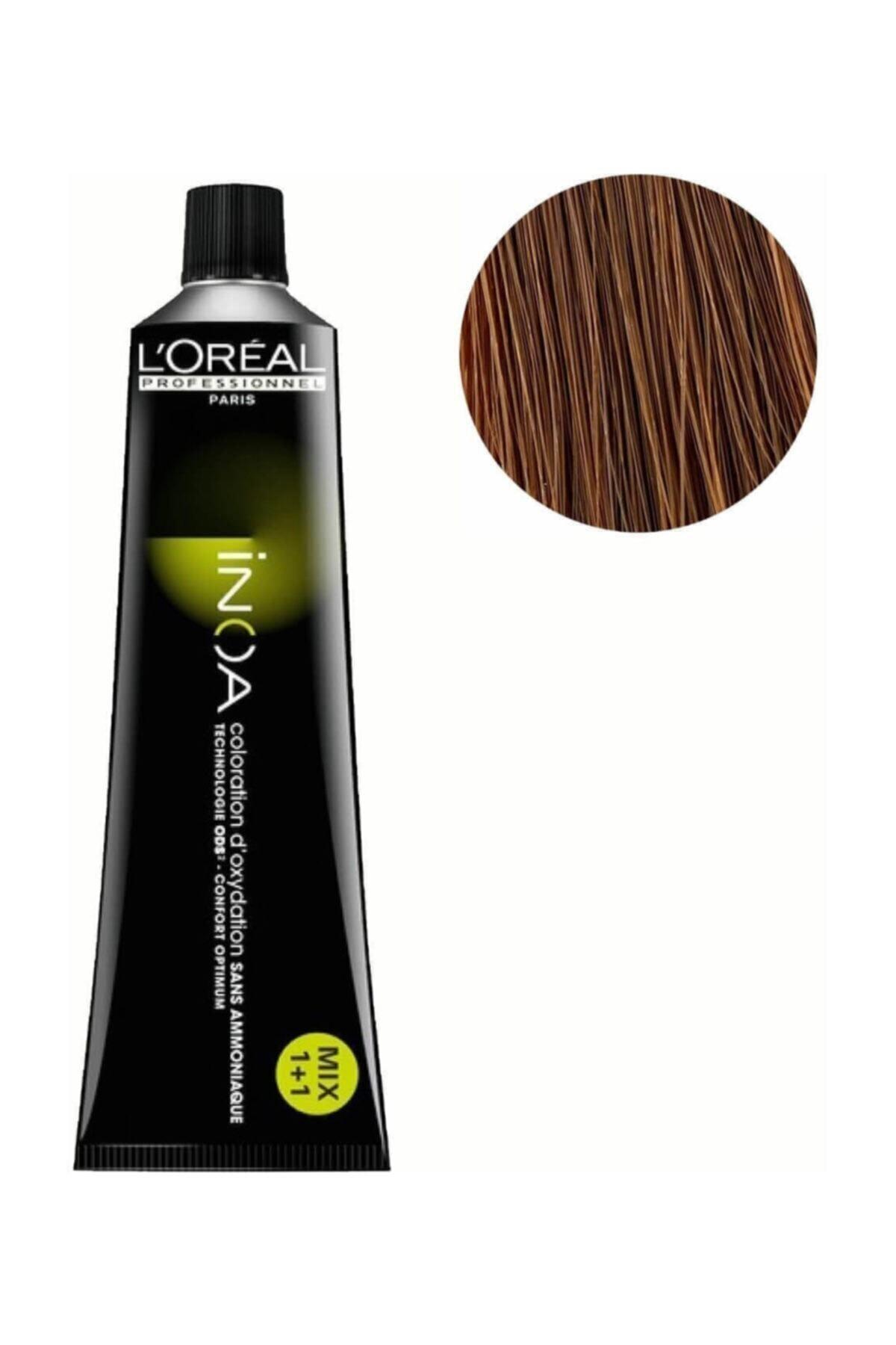 İNOA Inoa Saç Boyası 7 Kumral 3474630415546 (oksidansız) 1