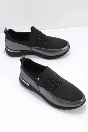 Bambi Siyah Platin Kadın Casual Ayakkabı K01839001609