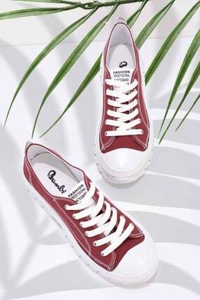 Bambi Bordo Kadın Sneaker K01836002518