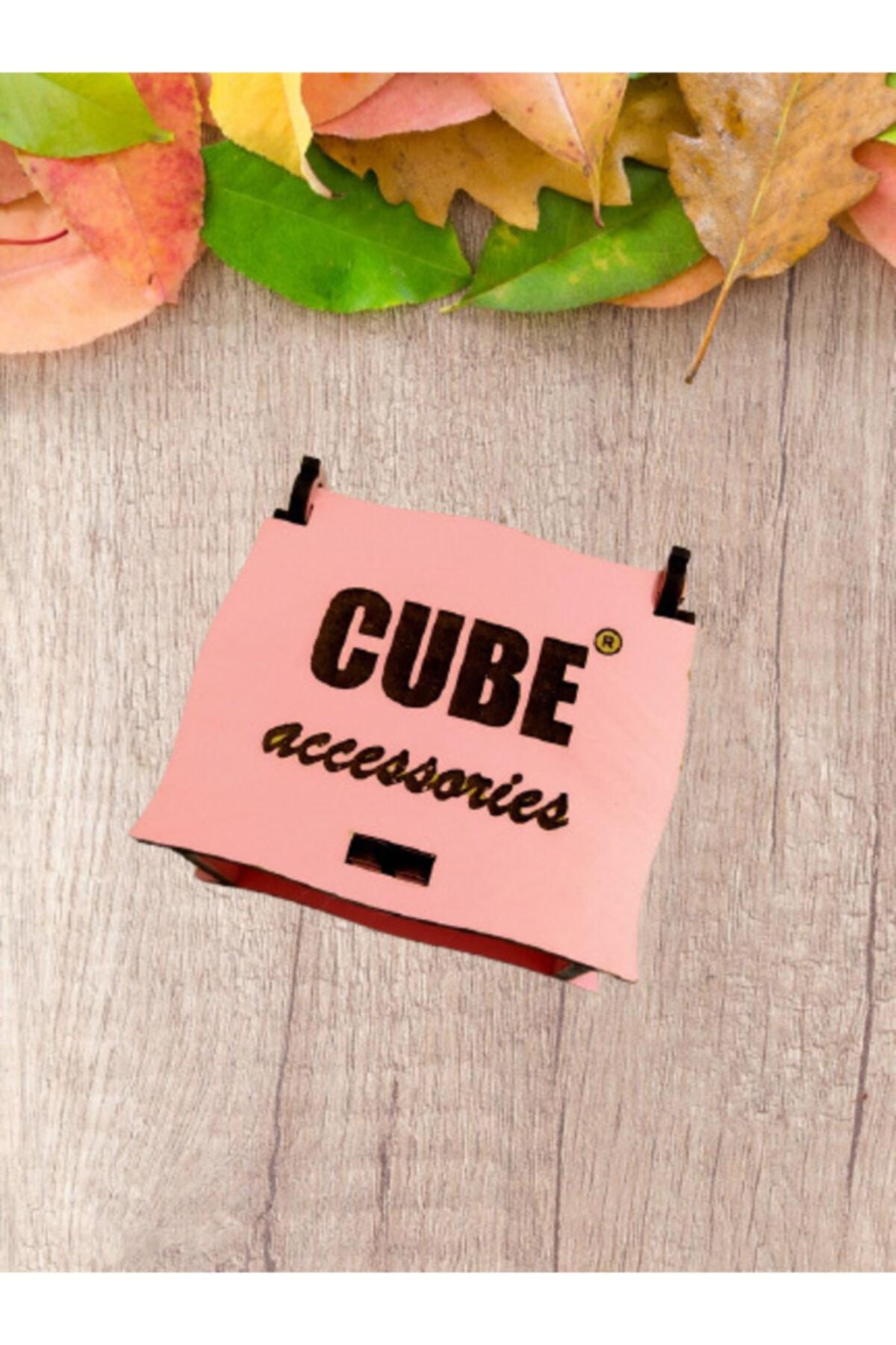 Cube Lotus Nilüfer Çiçeği Amatist Taşlı Kolye 2