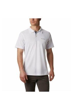 Columbia Erkek Beyaz Utılızer Polo Yaka T-shirt