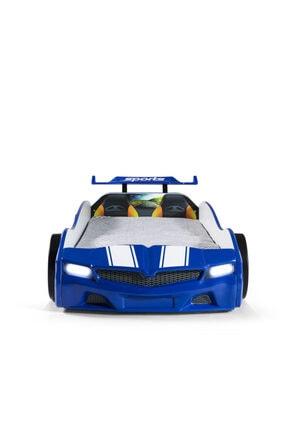 Ferramini Arabalı Yatak, Bmw Spx Mavi Işıklı Arabalı Yatak