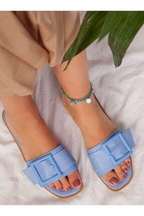 ayakkabıhavuzu Kadın Bebe Mavi Terlik