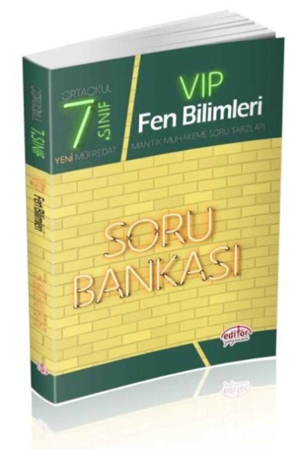 Editör Yayınları Editör 7. Sınıf Vıp Fen Bilimleri Soru Bankası (YENİ) 1