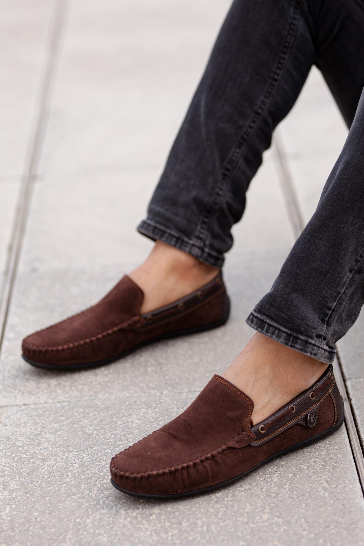 MUGGO Kahverengi Günlük Ayakkabı M3473 Hediye 1