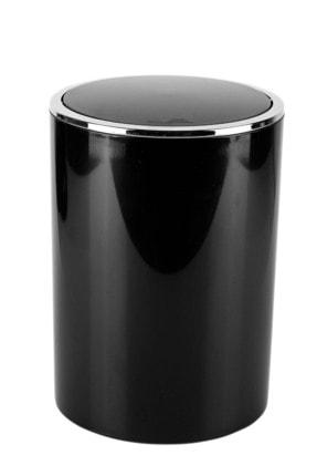 Prima Nova Siyah  Lenox Çöp Kovası 6 lt