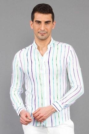 Mcr Baskılı Uzun Kollu Gömlek