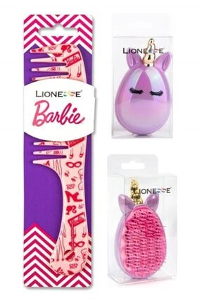 Lionesse Unicorn Barbie Fırça Seti